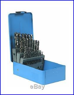 Century Drill and Tool 26129 Cobalt High Speed Steel Drill Bit Set 29-Piece New
