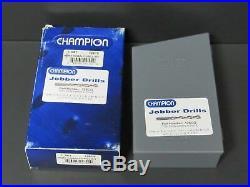 Champion 126CO 705C Cobalt Jobber Length Drill Bit Set 26 Piece A-Z Letter