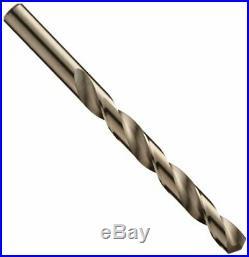 Chicago Latrobe 550 Series Cobalt Steel Jobber Length Drill Bit Set With Metal C