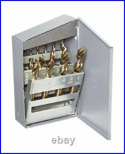 Chicago Latrobe 559 Series Cobalt Steel Short Length Drill Bit Set In Metal C