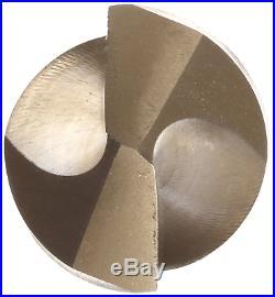 Chicago Latrobe 559 Series Cobalt Steel Short Length Drill Bit Set In Metal Gold