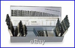 Chicago-Latrobe Jobber Drill Bit Set, Cobalt Steel, Fractional Inch, Letter