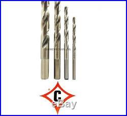 Cle Line 29pc COBALT M42 Hex Shank Drill Bit Set 1/16-1/2 Jobber Lengths USA