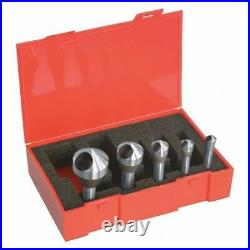 Cleveland C94595 Countersink/Deburring Tool Set, 5 Pieces