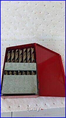 Cobalt Drill Bit Set Matco Tools DMC29A 29pc NEW BUT SEE LISTING SCUFFED BOX