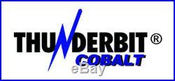 Cobalt Drill Bit Set USA Made ThunderBit M42+ Metal Case Warranty (Select Set)