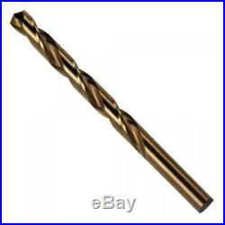Cobalt Drill Bits HSS Ground Flute Complete Set 1mm-13mm Buy 1 Get 1 Free
