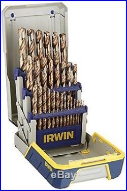 Cobalt High-Speed Steel Drill Bit, 29-Piece Metal Index Set