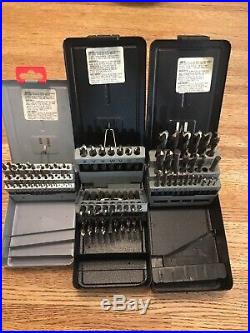 Cobalt Letter Number And Fractuonal Machine Drill Sets