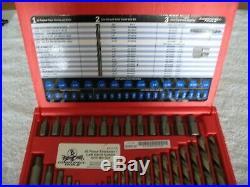 Cornwell Tools 35 Piece Extractor/Left hand Cobalt drill Bit set