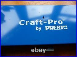Craft Pro by PRESTO M3-M12 Tap & Die Set & ARS Cobalt 1mm-10mm x 0.5mm left hand