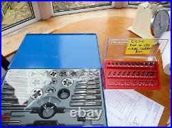 Craft Pro by PRESTO M6-M24 Tap & Die Set & ARS Cobalt 1mm-13mm drillmaster