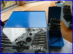 Craft Pro by PRESTO M6-M24 Tap & Die Set & ARS Cobalt 1mm-13mm x 0.5mm