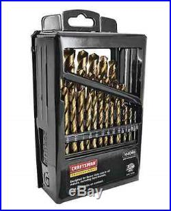 Craftsman Cobalt Drill Bit Bits 29 Piece Set Drill/Driver Accessory Kit