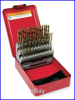 DBC260A SNAP ON 60 pc Cobalt Wire Gauge 118° Point Drill Bit Set