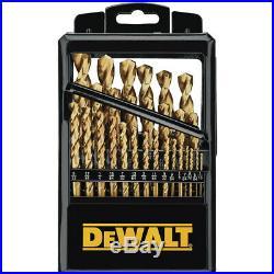 DEWALT 29-Piece Thick & Durable Cobalt Jobber Drill Bit Set DD4069 New