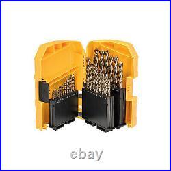 DEWALT 29pcs Drill Bit Set Containing 8% Cobalt HSS-CO Bits DT4957 for Metal