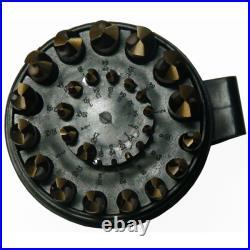 DRILL AMERICA D/A29J-CO-PC 1/16 1/2 Cobalt Jobber Drill Bit Set, Number of