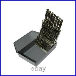 DRILL Drill America 1/16-1/2 X64ths Cobalt Stub Set (TWDA29SCOSET)