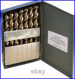 Dartdrill Usa Premium M42 Cobalt Drill Bit Set Hss Industrial Grade Drill Bits
