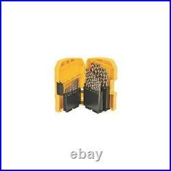 DeWalt DT4957-QZ 29PC HSS E Cobalt Drill Bit Set 1.0 13MM in A Plastic Casset