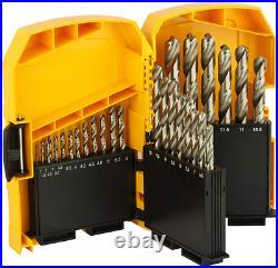 DeWalt DT5929-QZ Cobalt metal drill set (29 pieces) in a Set of 29