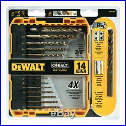 DeWalt Industrial Cobalt Drill Bit Set 14 pc