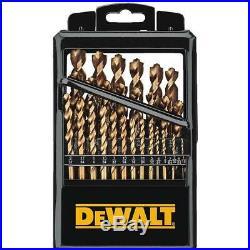 Dewalt 29 Piece Brad Pilot Point Cobalt Drill Bit Set DWA1269
