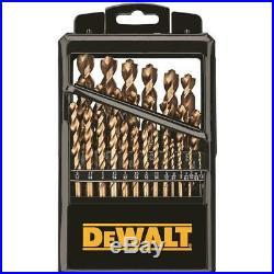 Dewalt-DWA1269 29 pc. Industrial Cobalt Pilot Point Drill Bit Set