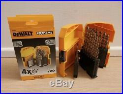 Dewalt Dt4957 29pce Extreme Industrial Cobalt Hss E Metal Drill Bit Set
