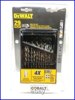Dewalt Dwa1269 29pc. Drill Bit Set Industrial Cobalt (cmp042547)