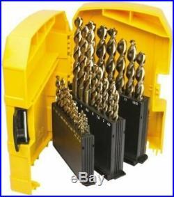 Dewalt HSCo 1mm to 13mm, 29 piece Drill Set