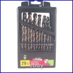 Disston 3314 Blu-Mol Xtreme Cobalt Drill Bit Set 29 Pieces