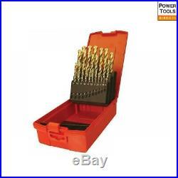 Dormer A095 Set 204 HSS TiN Coated Jobber Drill Set of 25 1.0-13.0 x 0.5mm