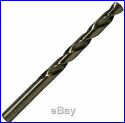 Drill America 115 Piece m35 Cobalt Drill 1/16 1/2 A-Z #1-#60 115 Piece Set