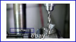 Drill America 29 Piece m42 Cobalt Drill Bit Set (1/16 1/2 X 64ths), D/ACO
