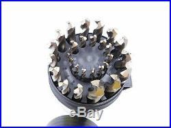 Drill America 29pcs M42 Cobalt Drill Bit Set in Round Case 1/16 1/2 X 64ths
