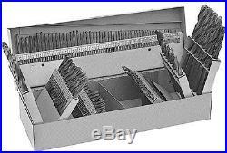Drill America DWD115J-CO-SET Qualtech 115 Piece Cobalt Steel Jobber Length Drill