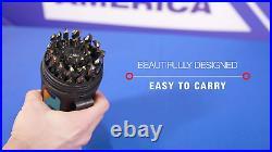 Drill America DWD29J-CO-PC 29 Piece M35 Cobalt Drill Bit Set in Round Case X