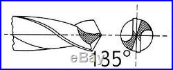 Drill America D/A29JX3/8-CO-SET 29 Piece Cobalt Steel Reduced-Shank Drill Bit Se
