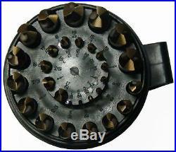 Drill America D A29J CO PC 29 Piece Cobalt Steel Jobber Length Bit Set in