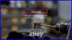 Drill America D/A833Sd-Co-Set 33 Piece M42 Cobalt Reduced Shank Drill Bit Set