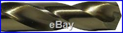 Drill Bit Set 115 Piece Cobalt In Metal Case Sizes 1/16 in. 1/2 in. A-Z #1 #60