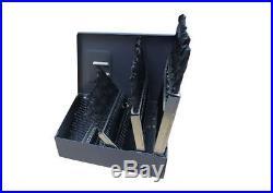 Drill Cobalt Bit Set Bits Straight Shank 60-Piece Industrial Professional