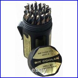 Drill DA29JCOPC America 1/16-1/2x64ths Cobalt Set In Plastic Case