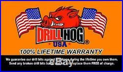 Drill Hog 10 Pc Spiral Screw Extractor Left Handed Cobalt Drill Bit Set