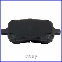 Drill Slot Front Ceramic Brake Pads And Rotors Kit For 2007-2009 Saturn Aura