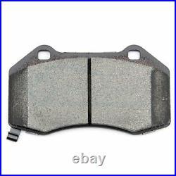 Drill Slot Front Ceramic Brake Pads And Rotors Kit For 2008-2010 Chevrolet HHR