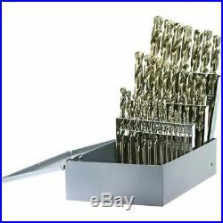 Drillco 500A29 29PC COBALT Drill Bit Set 1/16-1/2 BY 64ths
