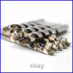Drillforce 10PCS 9/32 Cobalt Drill Bits Set HSSCO M35 Jobber Metal Drill Bit